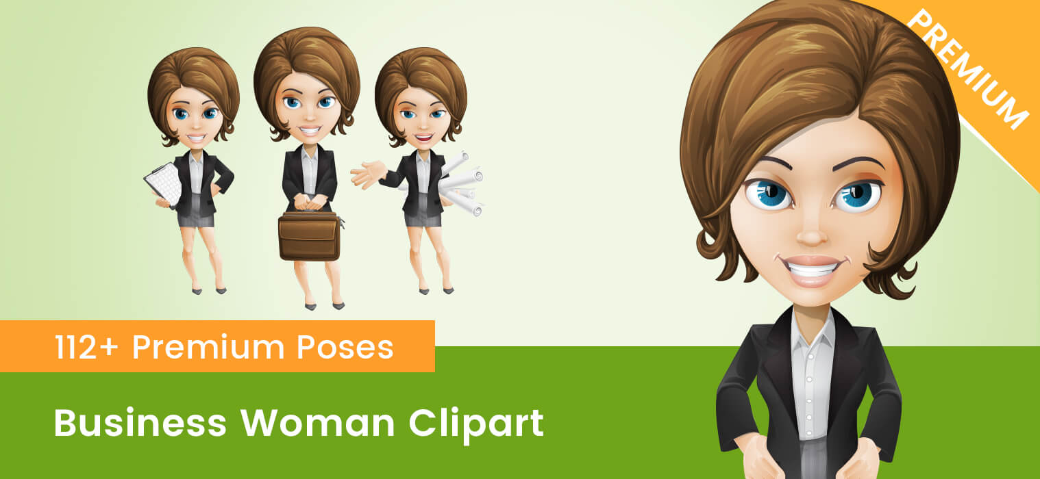 Business Woman Clipart PNG