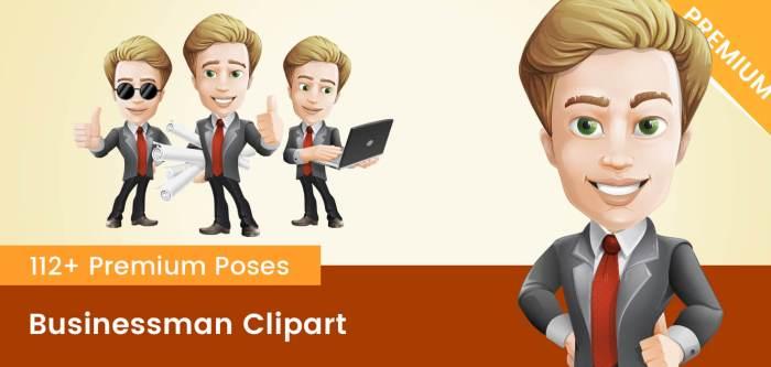 Businessman Clipart PNG
