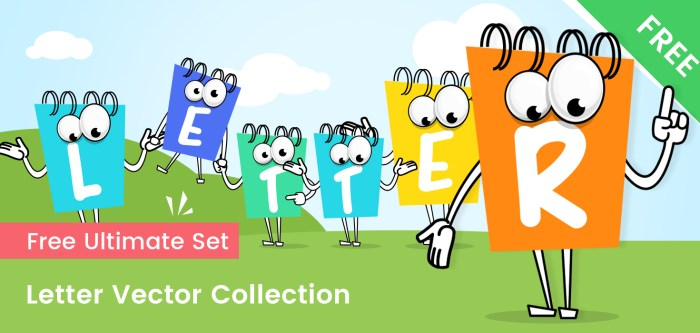 Letter Vector Collection