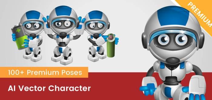 AI Vector Character