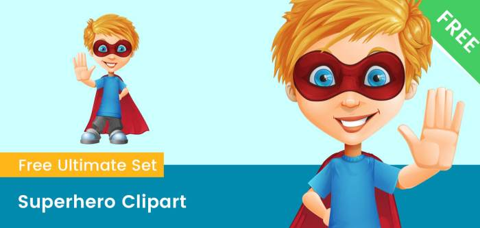 Superhero Clipart Transparent