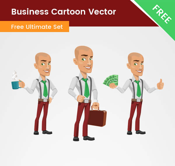 Business Cartoon Vector