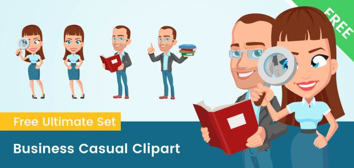 Business Casual Clipart