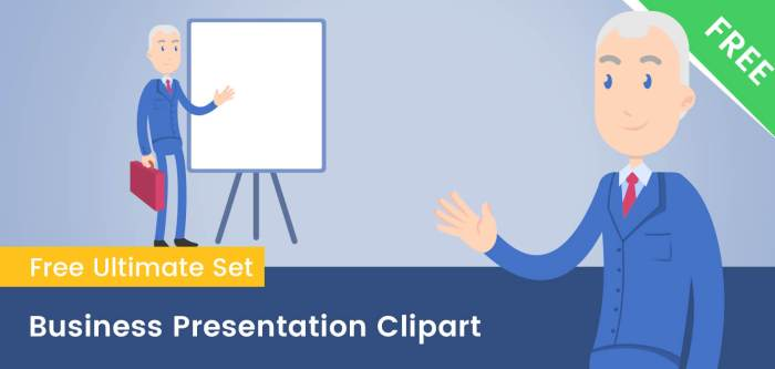 Business Presentation Clipart