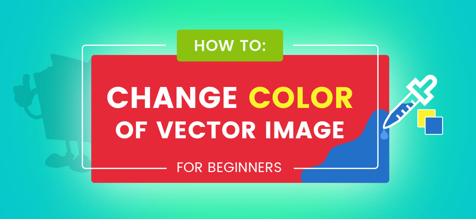 How to Change Color of Vector Image for Beginners
