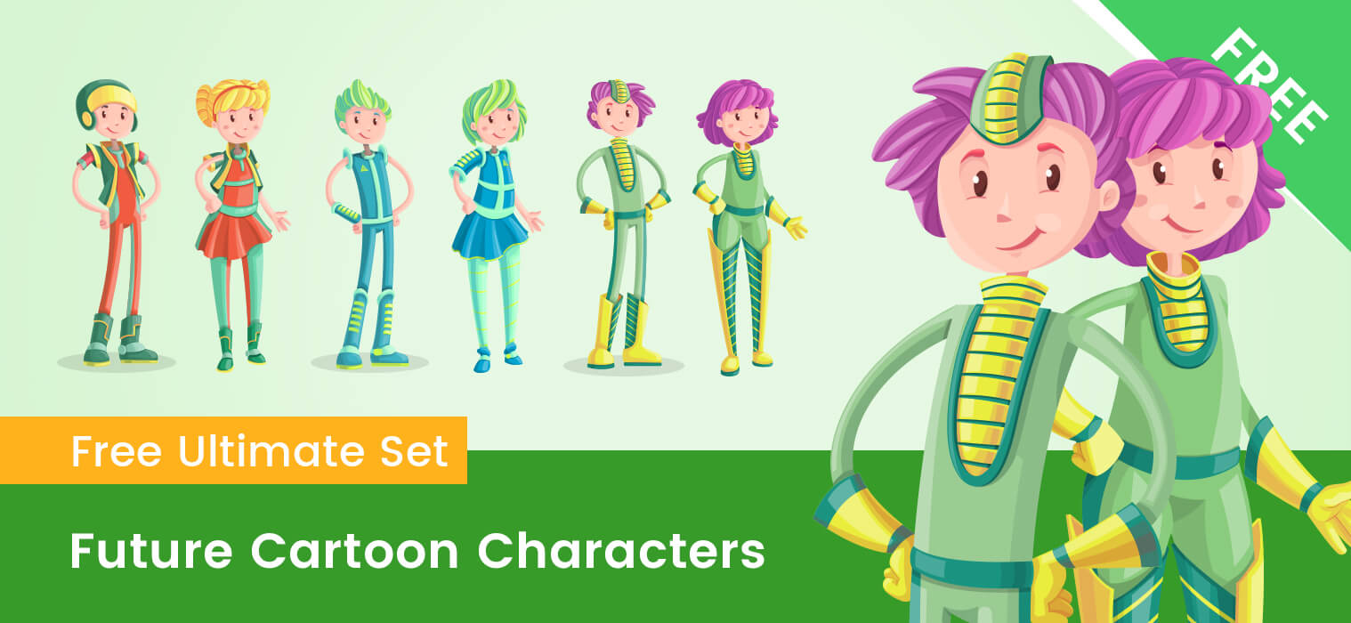 Future Cartoon Characters Collection