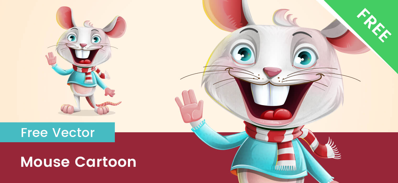 Free Mouse Vector Character