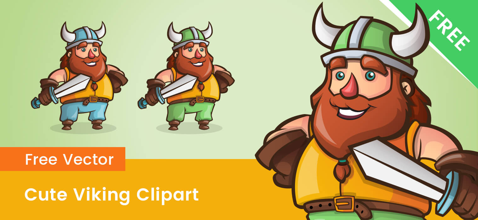 Free Cute Viking Clipart