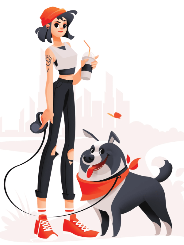 Really Good Character Design - Cute Girl Character