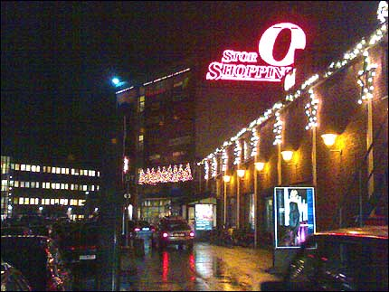 Det gamle kjøpesenteret på Storo