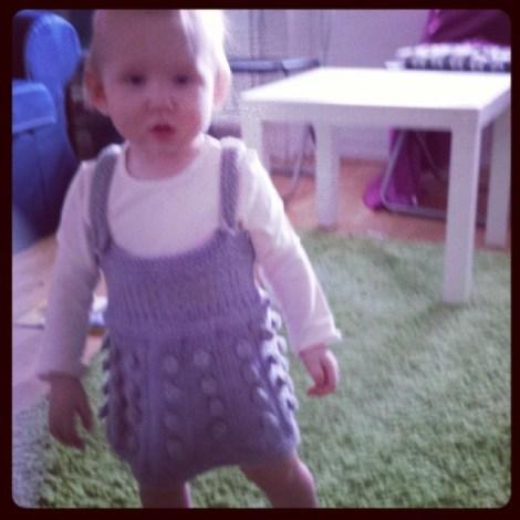 Idun i dalek-klänning
