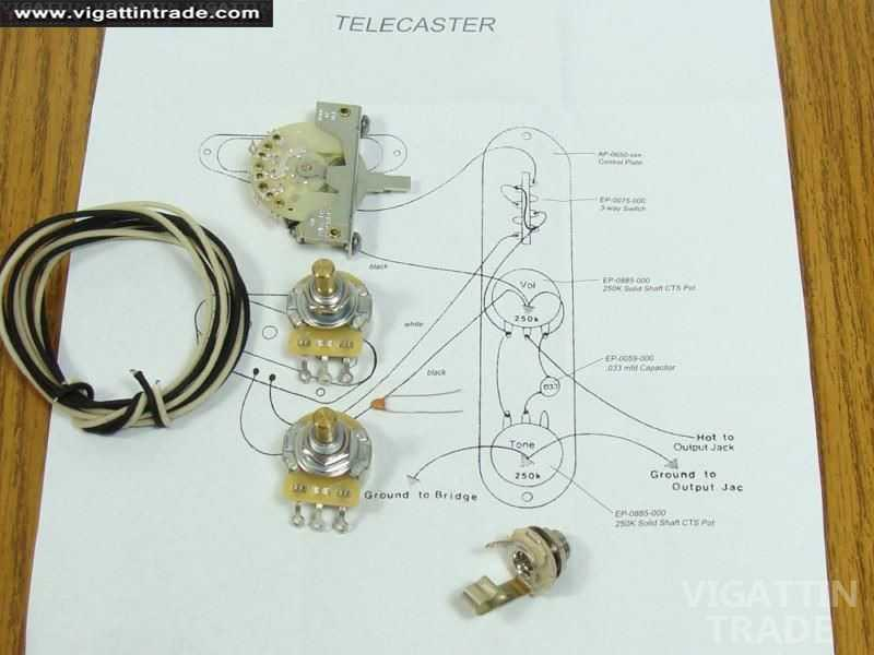 Tele Wire Diagram