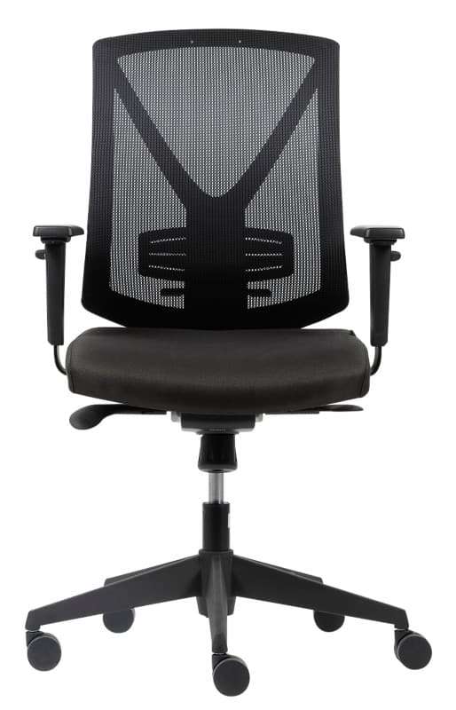 white mesh office chair uk bedroom groupon realspace karl black viking direct