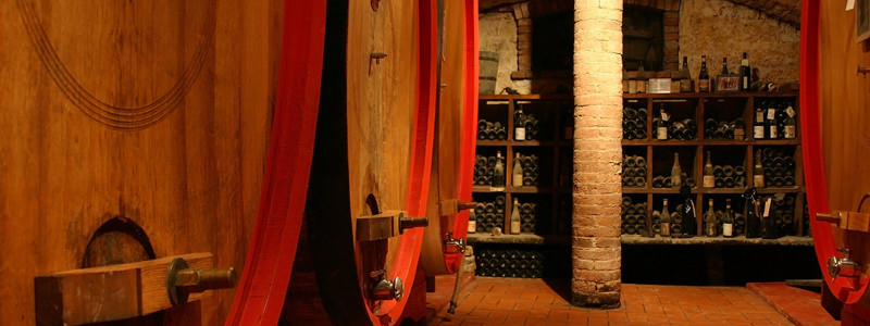 The celebrated wineries of Barolo.