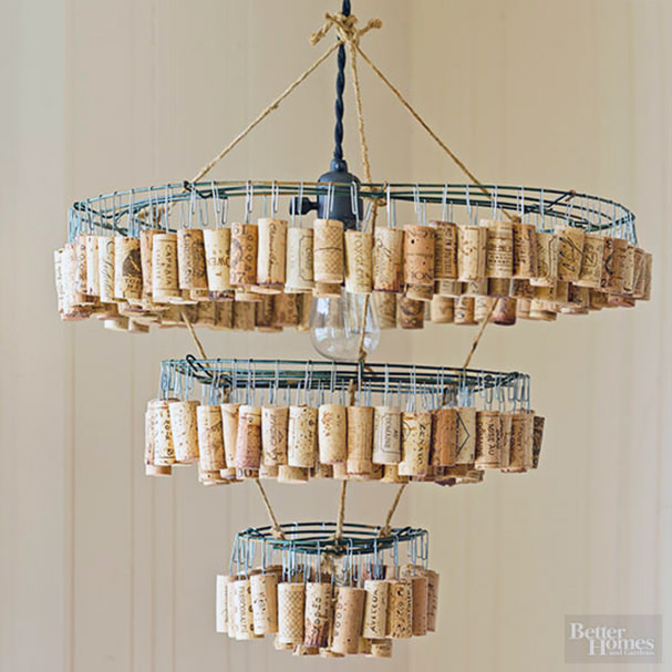This Cork Chandelier From Better Homes Gardens