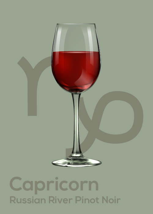 Here's Your April Horoscope and Drink Pairing Capricorn