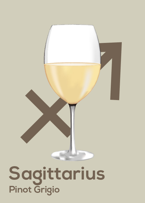Here's Your April Horoscope and Drink Pairing Sag