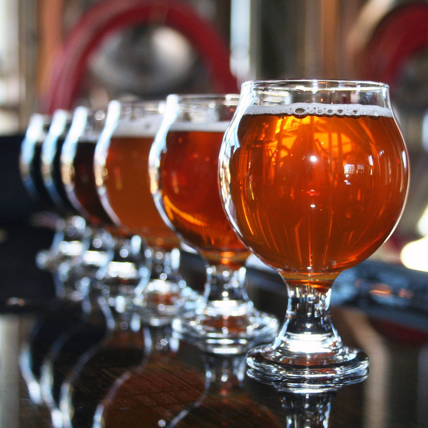 hight resolution of the craft beer bubble
