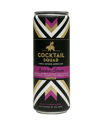 Cocktail Squad Bourbon Smash Is One of the Best Canned Cocktails for Summer 2020