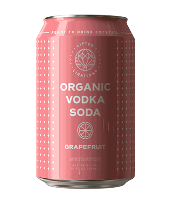 Lifted Libations Grapefruit Vodka Soda Is One of the Best Canned Cocktails for Summer 2020