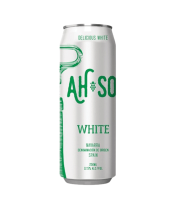Ah-So Navarra Blanco is one of the best canned wines for Summer 2020
