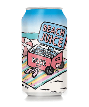 Beach Juice Rosé is one of the best canned wines for Summer 2020
