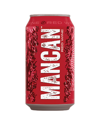 MANCAN Red Wine is one of the best canned wines for Summer 2020