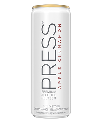 Press Apple Cinnamon is one of the best hard seltzers for fall 2020