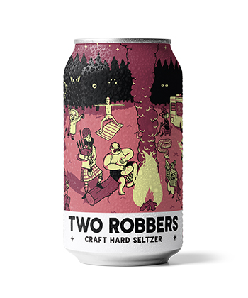 Two Robbers Black Cherry Lemon is one of the best hard seltzers for fall 2020
