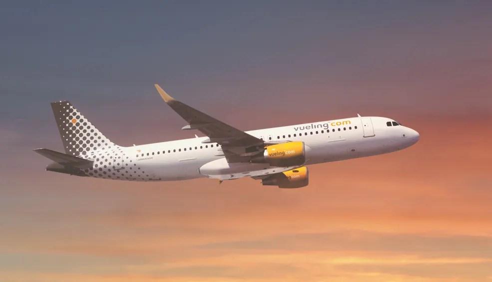 Resultado de imagen de avion de vueling