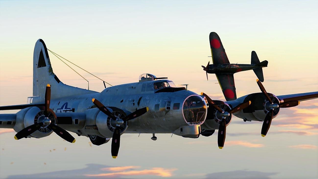 Profile B 17 Flying Fortress News War Thunder