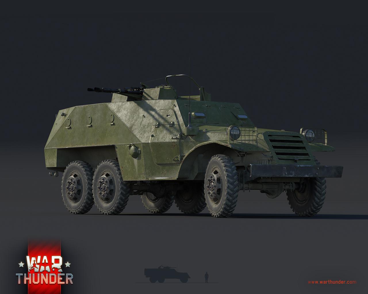 War Thunder Btr 152 Zpu The Armored Patrol