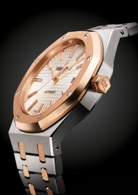 SIHH 2015: The New, Two-Tone Self-Winding Audemars Piguet ...