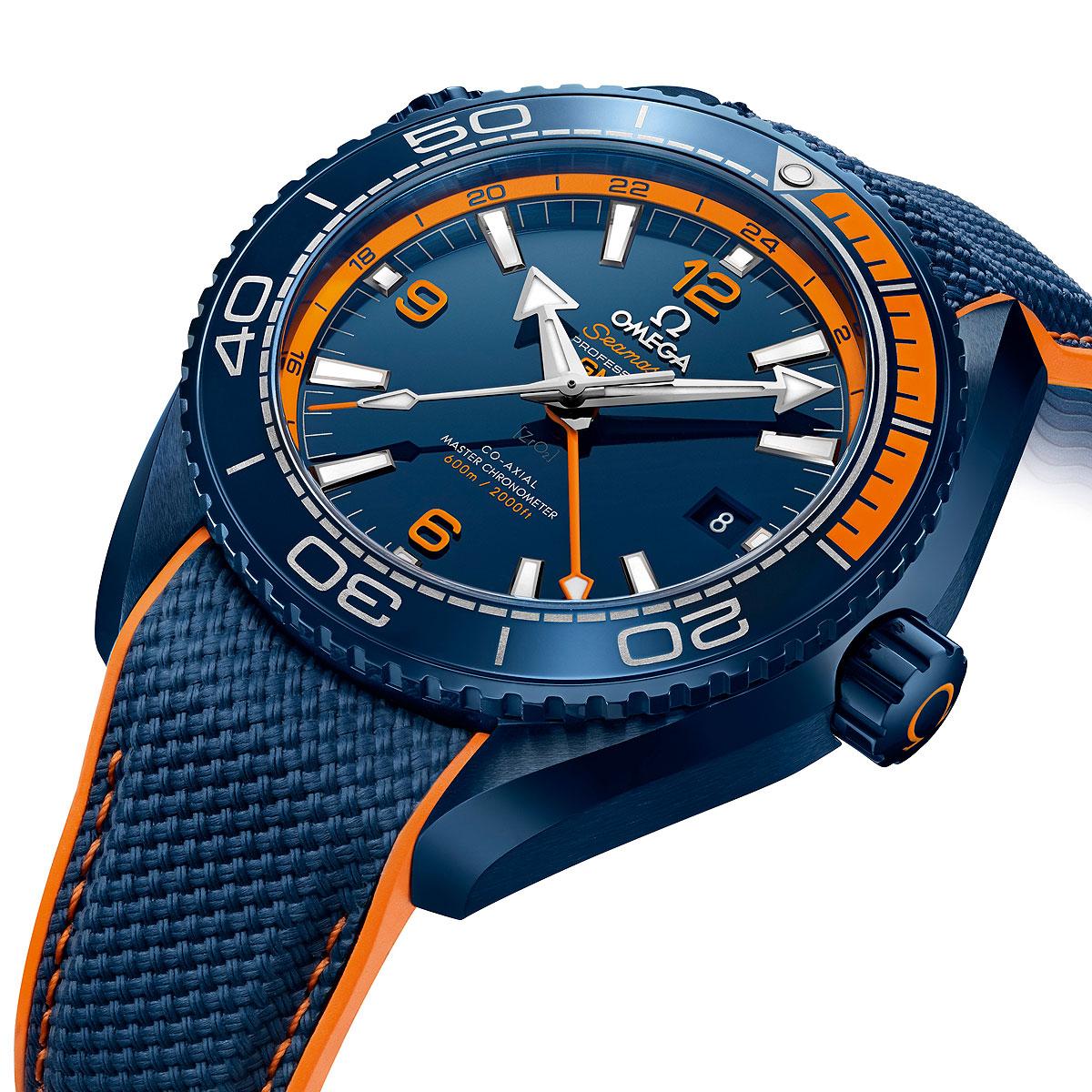 Omega Seamaster Planet Ocean Big Blue Watchtime