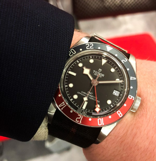 Hands-On with the Tudor Black Bay GMT | WatchTime - USA's ...