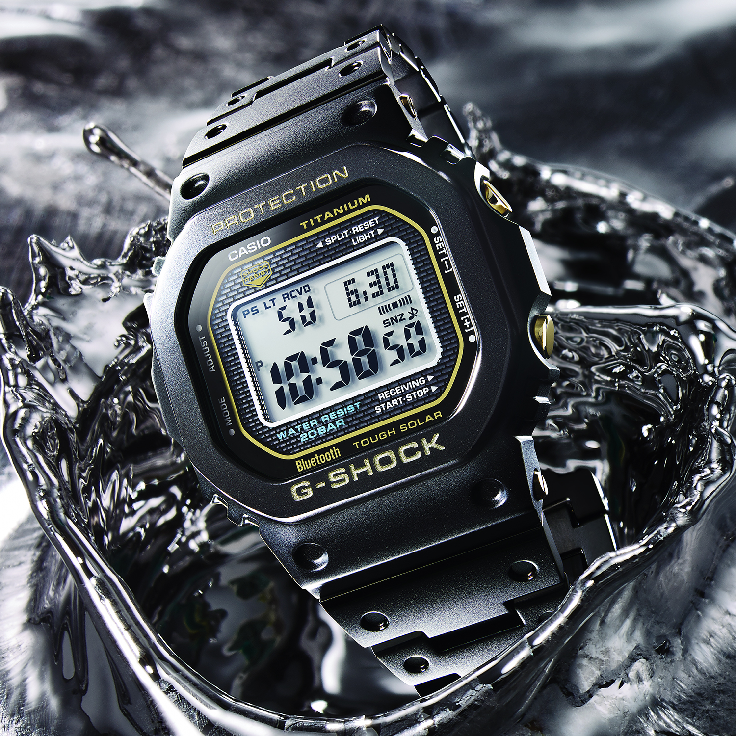 G-SHOCK Full Metal Series Adds Titanium with New GMWB5000TB | WatchTime - USA's No.1 Watch Magazine