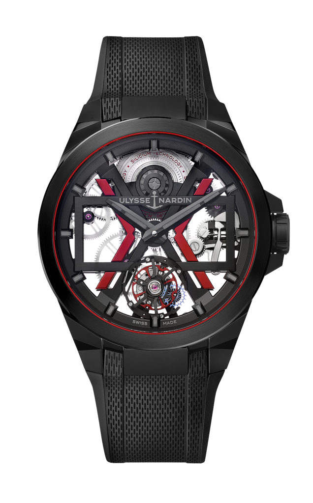 Ulysse Nardin Fires Up its Collection with the Blast. a Skeletonized Self-winding Tourbillon (Updated with Live Photos) | WatchTime - USA's No.1 ...