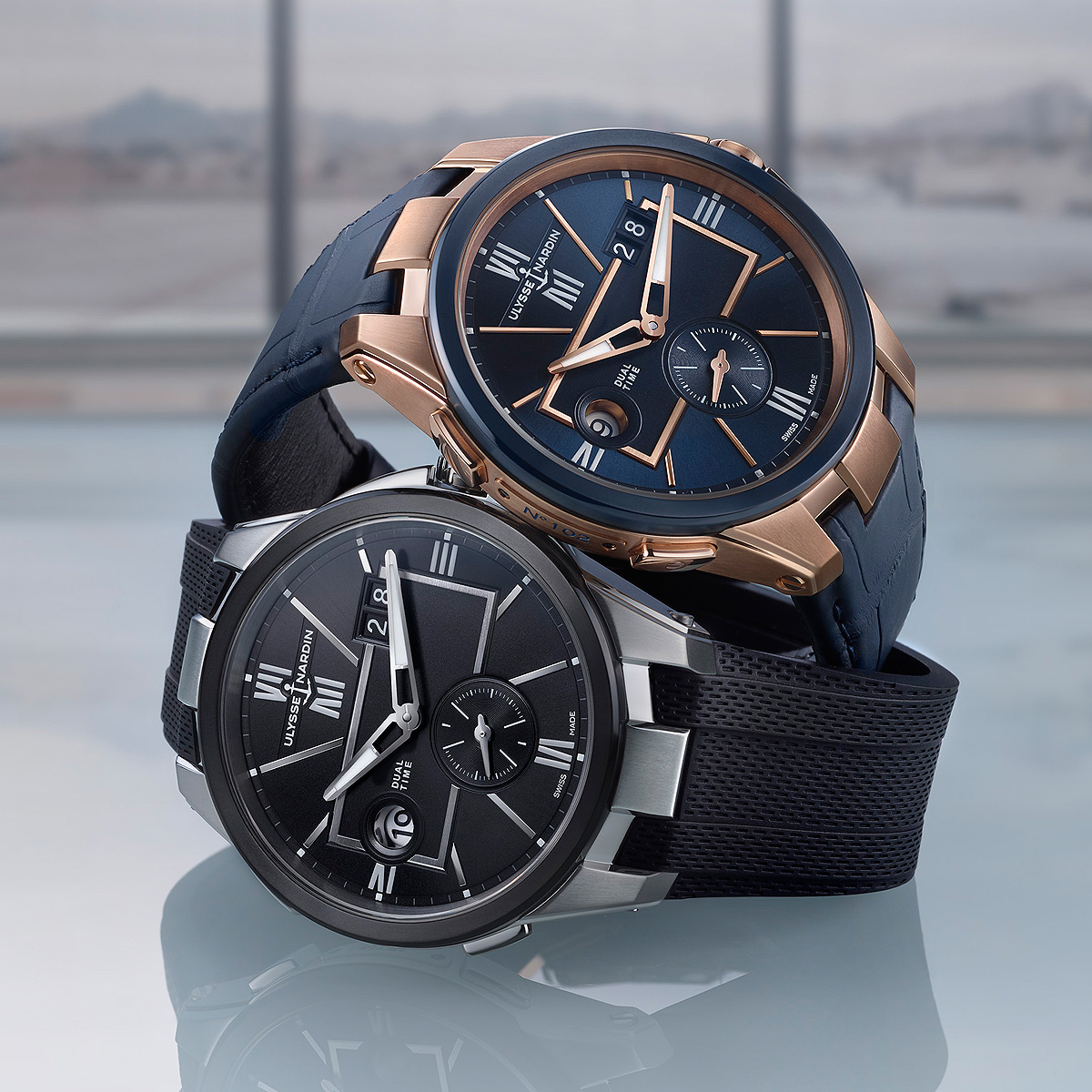 Traveler's Upgrade: Ulysse Nardin Introduces Reworked Dual Time Models | WatchTime - USA's No.1 Watch Magazine