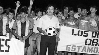 Pablo Escobar loved football, but in his own way