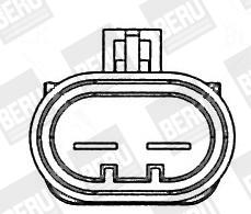 Ventilateur, refroidissement du moteur pour OPEL CORSA D 1
