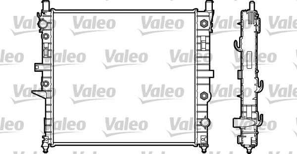 Radiateur du moteur pour MERCEDES-BENZ CLASSE M (W163) ML