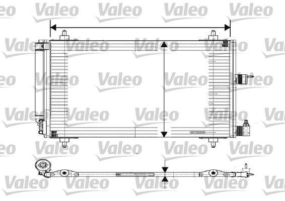 Condenseur, climatisation pour CITROËN XSARA PICASSO (N68