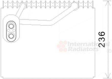 Evaporateur climatisation pour HYUNDAI SANTA FÉ II (CM) 2
