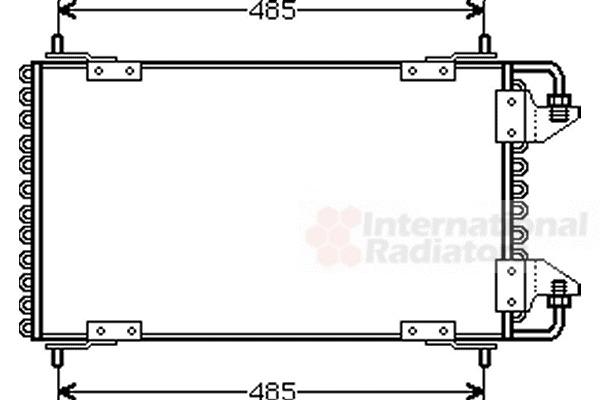 Condenseur, climatisation pour CITROËN BX (XB) 19 GTi 4x4