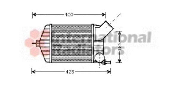 Intercooler, échangeur pour FIAT PUNTO (188) 1.9 JTD 80