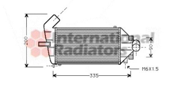 Intercooler, échangeur pour OPEL ASTRA G Break (F35_) 1.7