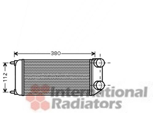 Intercooler, échangeur pour PEUGEOT 206 3/5 portes 1.6 HDi