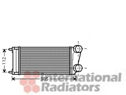 Intercooler, échangeur pour CITROËN C4 Grand Picasso 1.6