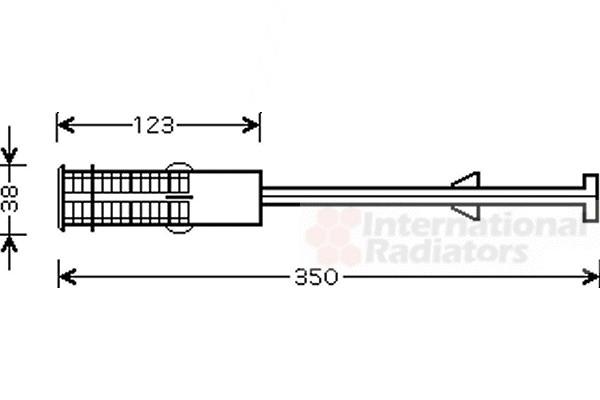 Bouteille déshydratante pour PEUGEOT 607 (9D, 9U) 2.2 HDI