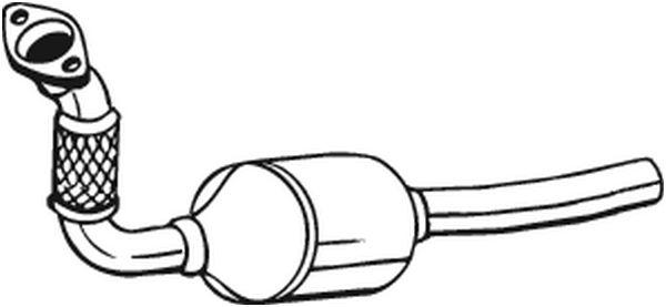 Catalyseur pour FIAT SCUDO I Combinato (220P) 2.0 JTD 94CV